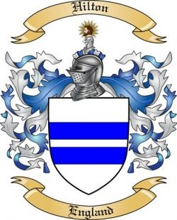 hilton family coat of arms | Hilton Family Coat of Arms from England