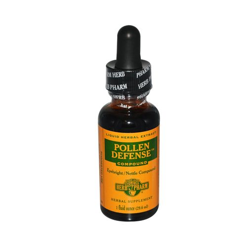 Herb Pharm Pollen Defense Compound Liquid Herbal Extract – 1 fl oz