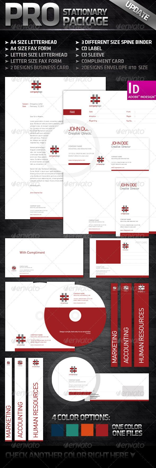 536 best corporate stationary images on pinterest corporate white and clean complete stationary print templatescard templatesform letterletter sizecorporate reheart Image collections