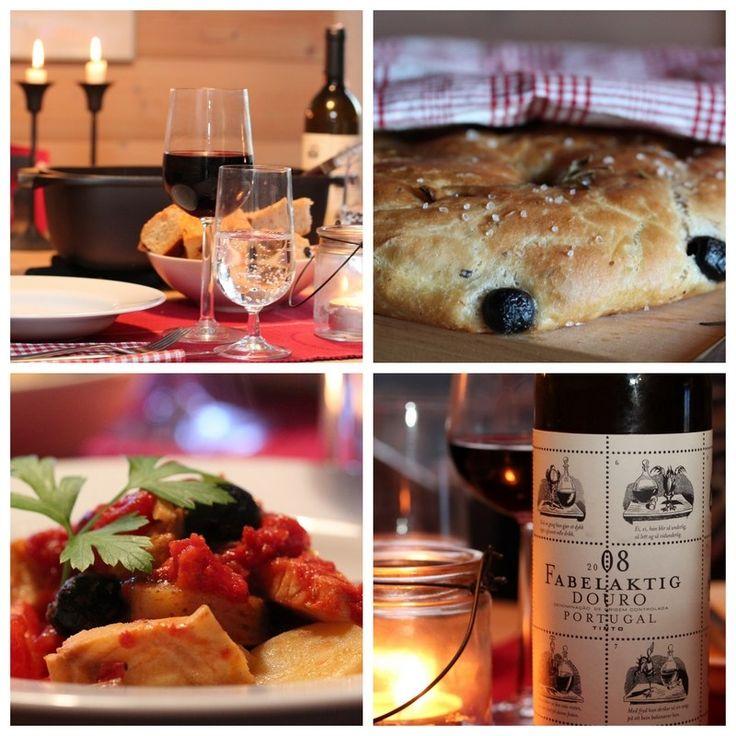 Bacalao, vin og foccacia
