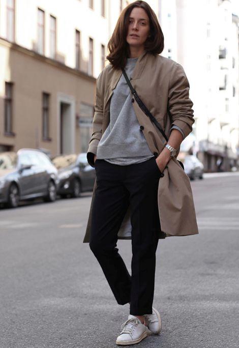 Classic Basics | Street Style | Source: lacooletchic, via styleattitude