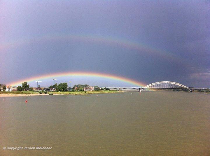 De waalbrug in Nijmegen