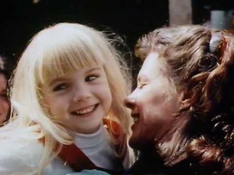 Poltergeist I 1982 Heather O'Rourke and Jobeth Williams behind the scenes