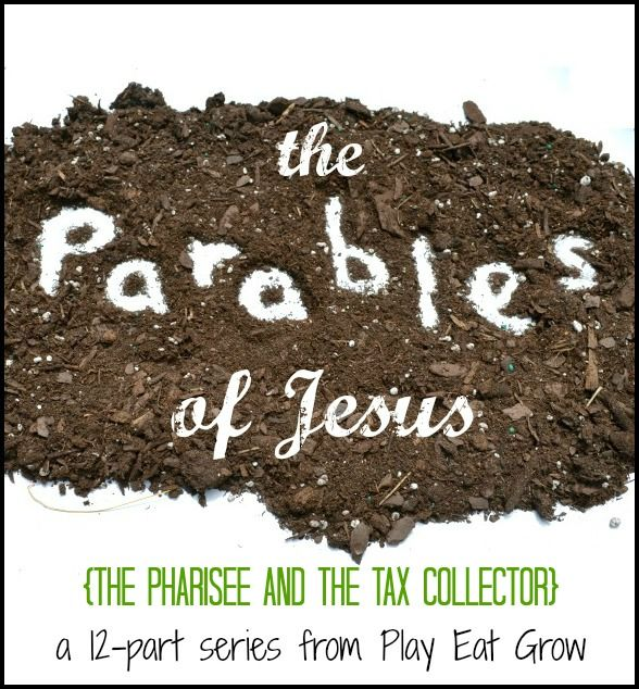 A great object lesson to teach about the pride of the Pharisee and the humility of the Tax Collector.