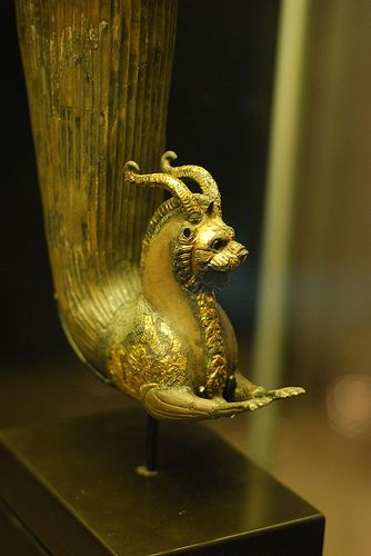 Thracian Rhyton, 2nd to 1st C. BC