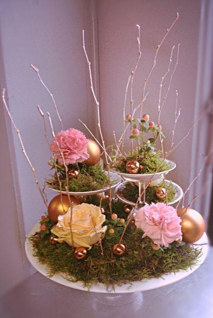 Tafeldecoratie kerst - Jeanne van Slooten