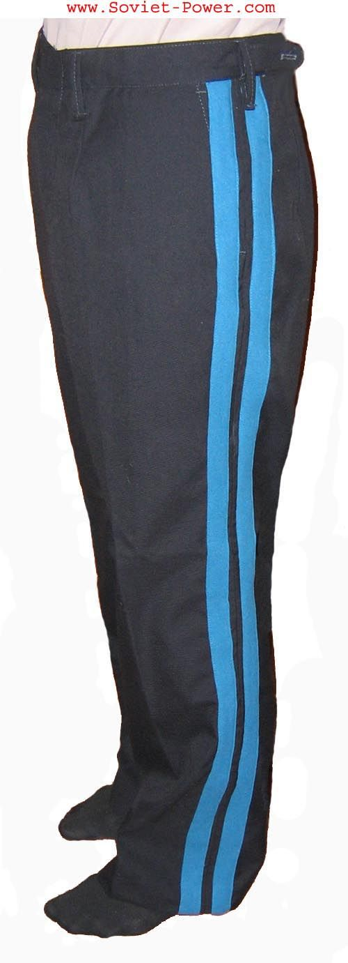 Soviet Navy ADMIRAL TROUSERS with Blue stripes USSR Navy
