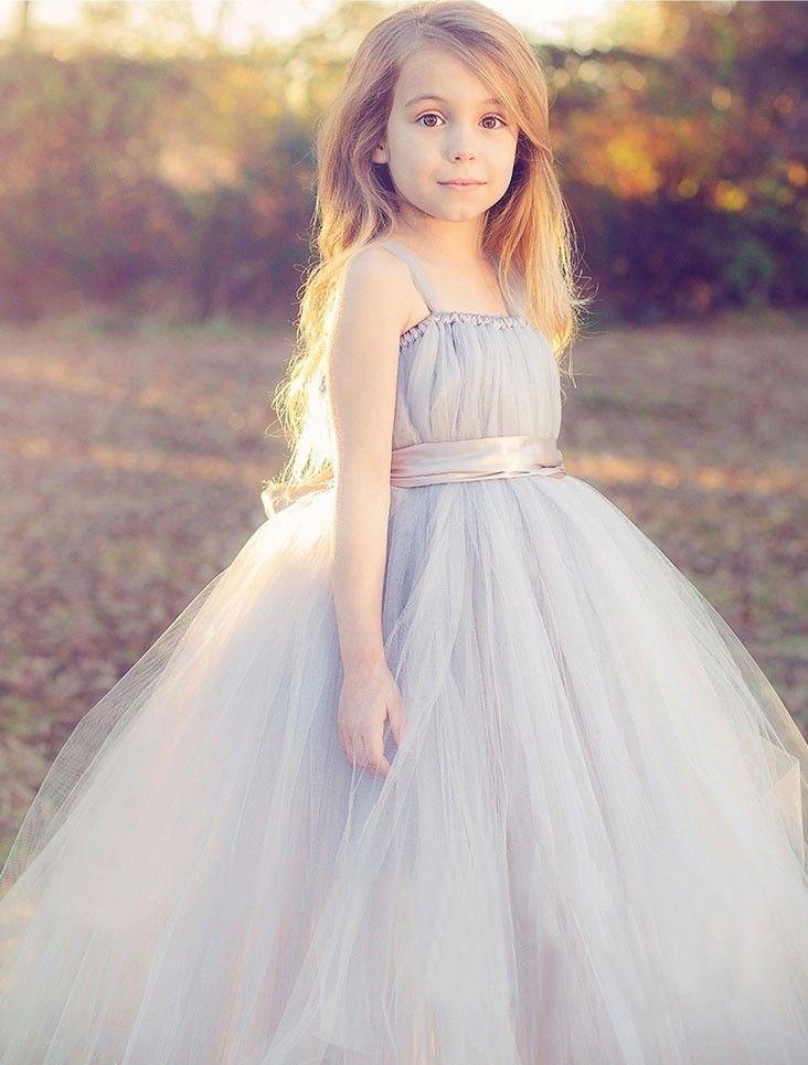 25 best Kinder ballkleider images on Pinterest   Blumenmädchen ...