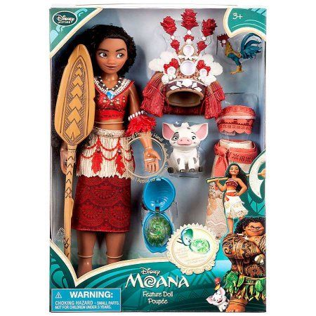 Grandpa got these for our sweet girls!!Disney Moana Doll [Singing]