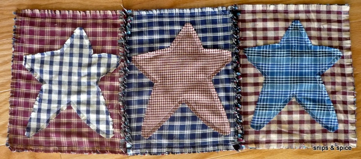 Reunion auction item: Appliques Crafts, Tables Runners, Independence Day, Table Runners