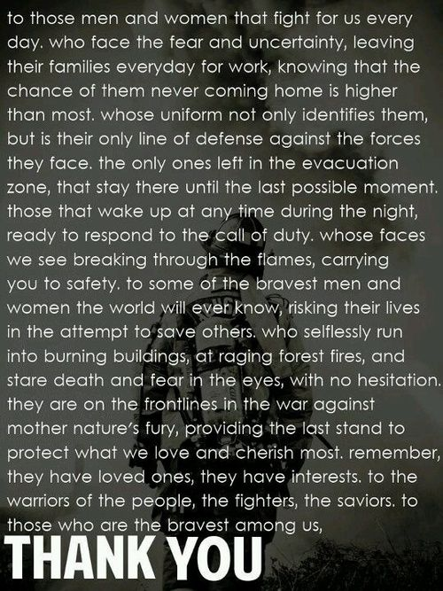 EMS Week Quotes | home. Hearses carrying the bodies of 19 firefighters killed last week ...