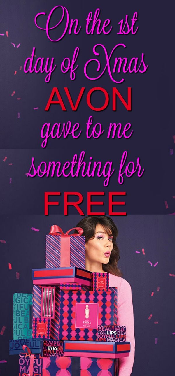 Fill up your shopping cart!!! AVON is giving away free items this holiday season. You won't know what Avon will give away till the morning of, so check back everyday to see what's in store. Free Christmas presents. Free Hanukkah presents