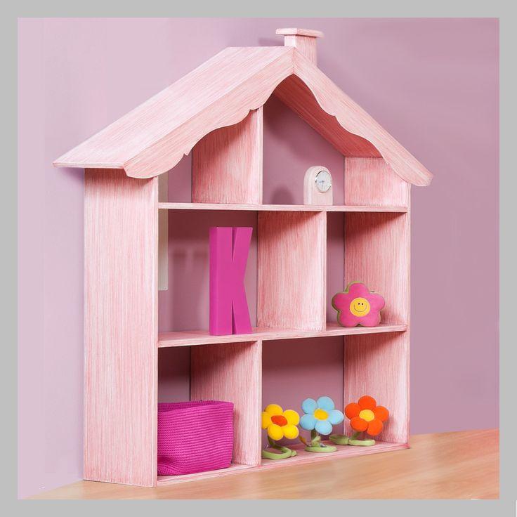 BIBLIOTECA CASA ROSADA RPJ-15-1 Biblioteca en madera cedro y acbado en DKP rosado. Tiene tres entrepaños con seis divisiones en diferentes tamaños. Puede seleccionar acabados que más se adecuen a su habitación. Todos nuestros muebles son hechos a mano y terminadas con lacas no tóxicas.