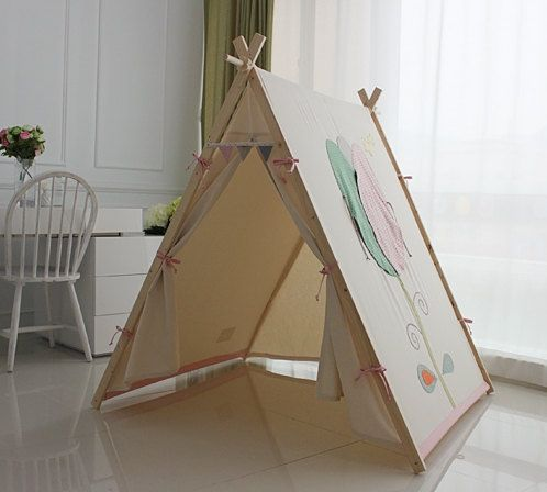 34 best images about teepee tent on pinterest children play red flowers and for dogs. Black Bedroom Furniture Sets. Home Design Ideas