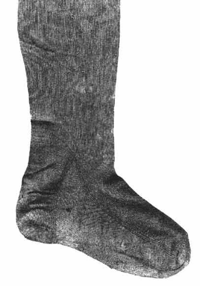 Seidenstrumpf 1525-1545