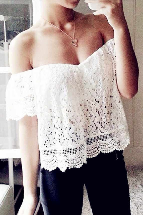 lace top//