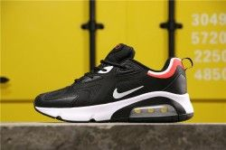 Nike Air Max 200 Schwarz Weiß Rot AQ2568-106 Winter Herren Laufschuhe AQ2568-106   – Nike Air Max  200 shoes