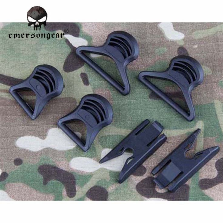 Emerson Airsoft Hunting Goggle Swivel Clips For Fast Style Helmet Accessory Tool Sport Paintball Glasses Plastic Hook EM8620