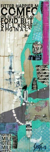 17 best Tableaux peinture images on Pinterest Canvases, Paint and - bombe de peinture aluminium