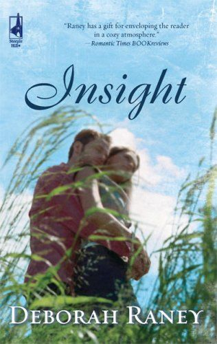 This was the original cover for Insight (first published by Steeple Hill in 2009, then reissued with a new cover and a brand new epilogue.)