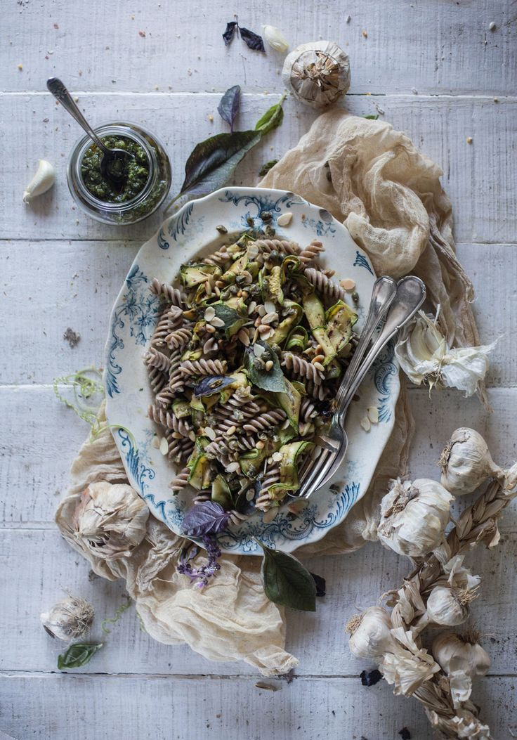 Mediterranean Grilled Zucchini & Pasta Salad for July 4th   Hortus Natural Cooking
