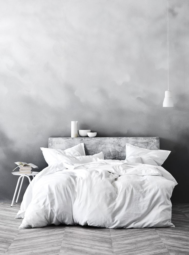 Maison Fringe quilt cover in White, AURA home, AW17 collection