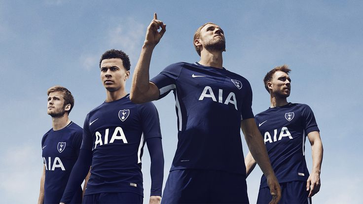 Camisas do Tottenham 2017-2018 Nike