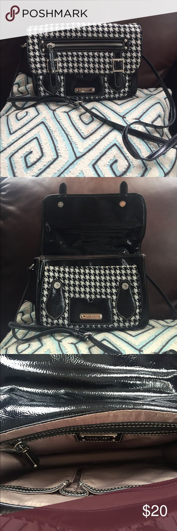 Nine West Purse Beautiful and functional Bag! It is in excellent used condition with only one small tear on the handle.(please check the last picture). Nine West Bags Crossbody Bags
