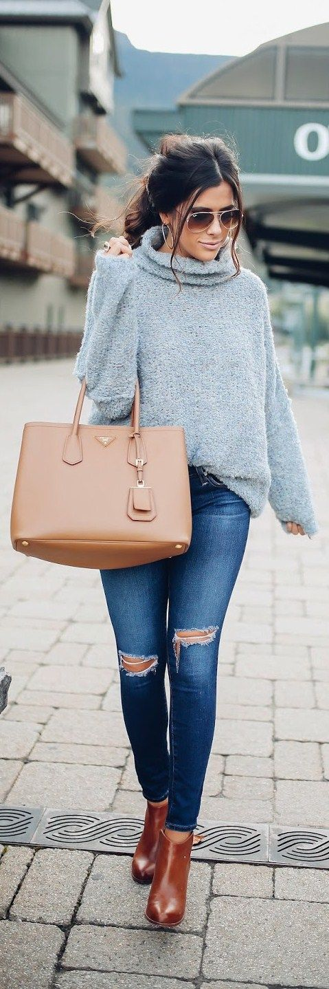Cozy Sweater // Fashion Trend by The Sweetest Thing