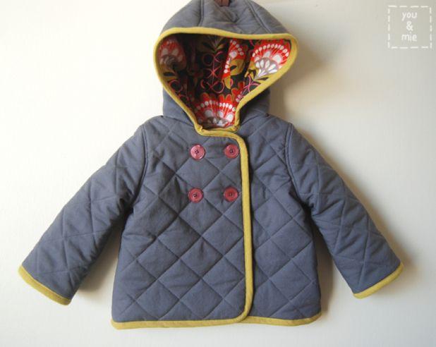 Kids Quilted Jacket Pattern (DIY)