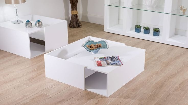 Stylish White Coffee Table UK Delivery