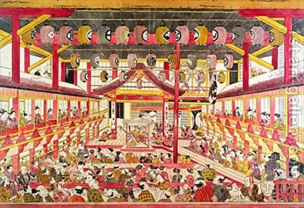 kabuki theater interior: Kabuki Ancient, Kabuki Theater, Theater Interiors, Theatre Inspiration, Ancient Style, Kabuki Makeup, Style Theatre, Theatre Houses, Photo