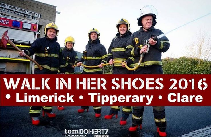 Men – are you willing to take the challenge on May 21st and walk an honorary mile in high heels in support of Rape Crisis Midwest? Then brace yourselves for Walk in her Shoes 2016! #lovelimerick