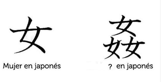 La lógica del japonés
