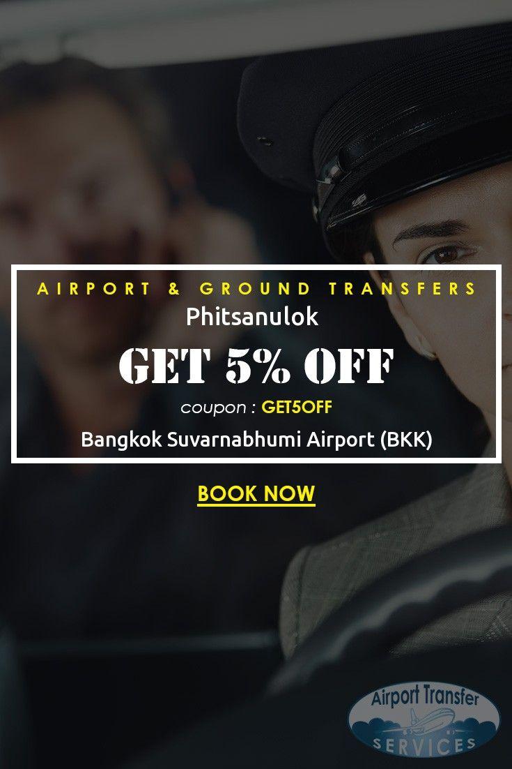 Transfers from Bangkok Suvarnabhumi Airport (BKK) to Phitsanulok starting from ฿… #BangkokAirport #BangkokAirporttransfers #Phitsanulok
