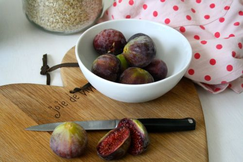 Fig and Honey Crumble with Lavender and Coconut