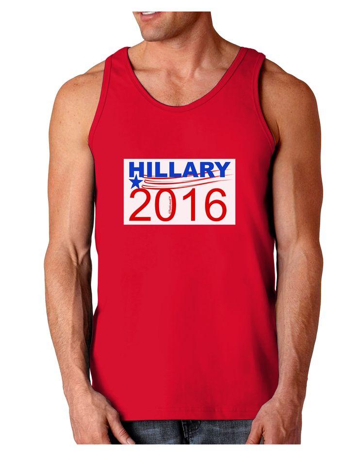 TooLoud Hillary 2016 Dark Loose Tank Top
