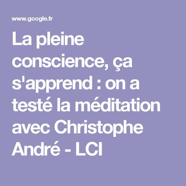 La pleine conscience, ça s'apprend : on a testé la méditation avec Christophe André - LCI