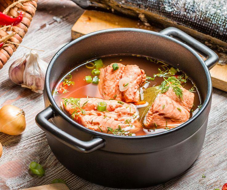 Hearty Salmon Soup Recipe