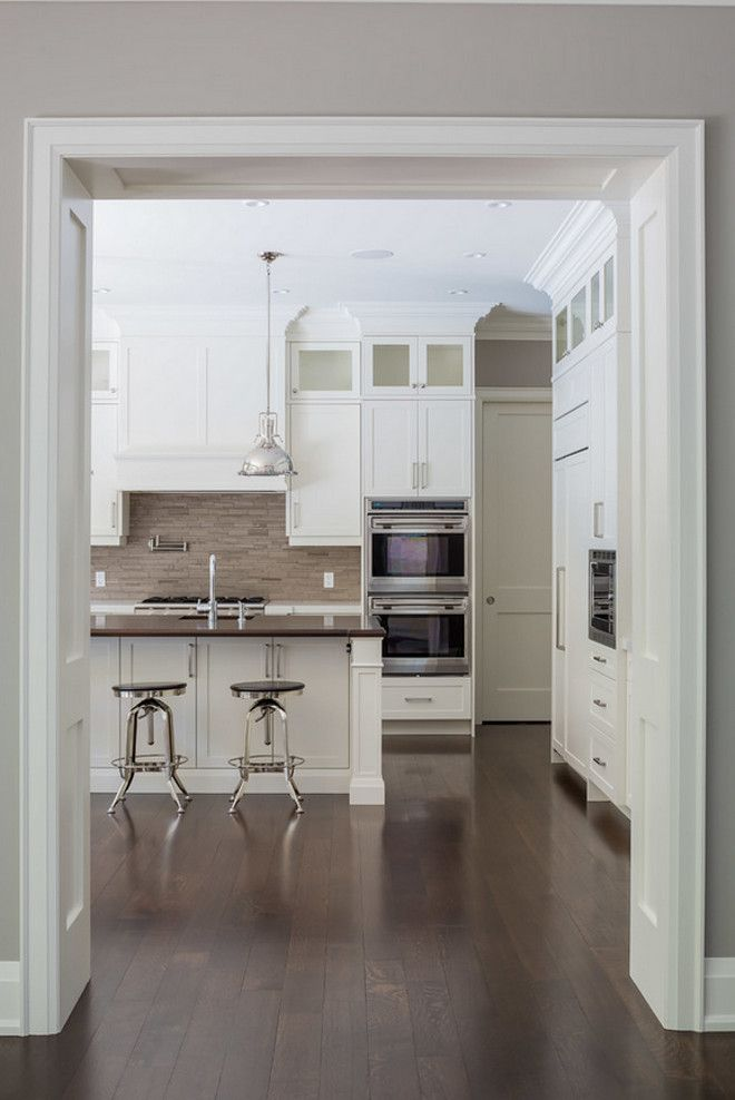 Find This Pin And More On Kitchens Combining Kitchen Hardwood Floor