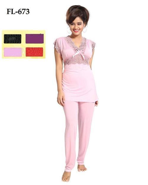 2 Pcs Nighty FL-673 - Flourish Exclusive Bridal Nighties  b0f427be9