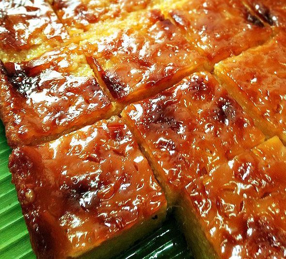 Cassava Cake Recipe | HomeKitchenomics