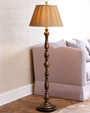 Bradburn Chinoiserie Floor Lamp Traditional Floor Lamps Lamps Table Buffet Floor Pinterest