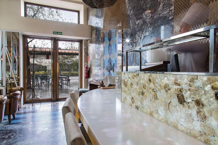 17 best images about krion restaurants cafe on for La cabana divertida