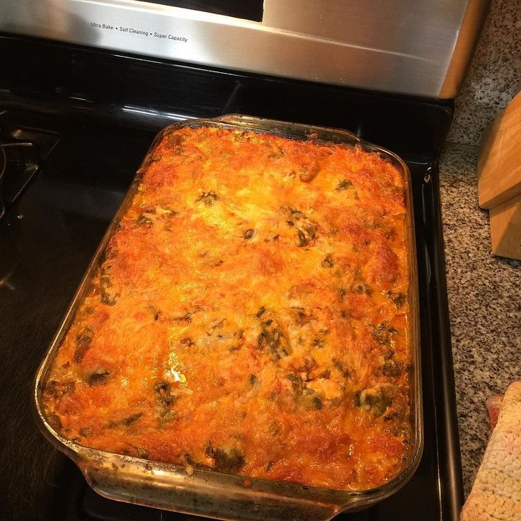 New Mexico Flat Style Green Chile Chicken Enchiladas