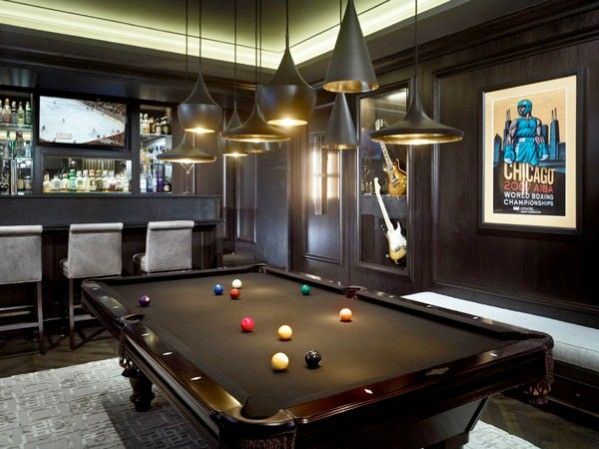 Garage Man Cave With Pool Table : Best man cave garages images on pinterest garage