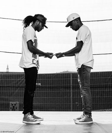 Brotherhood || HipHopDancePortrait Kenzo And Shay By @MrOfColors by MrOfColors Photography