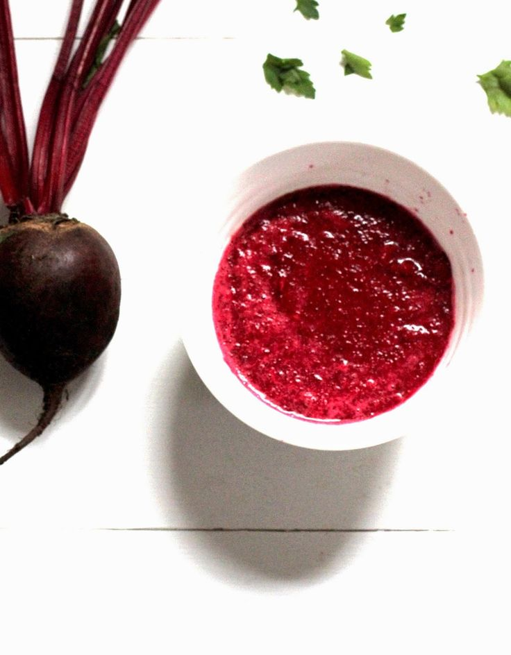 beetroot coconut and lime soup