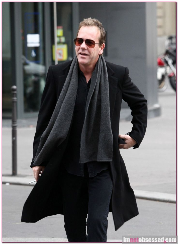 "24"" Actor Kiefer Sutherland Spotted In Paris: Is It For Work Or ..."