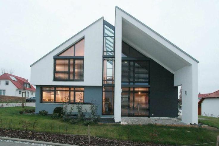 Zink k sters architekten moderne woning hellend dak for Architekten bungalow modern